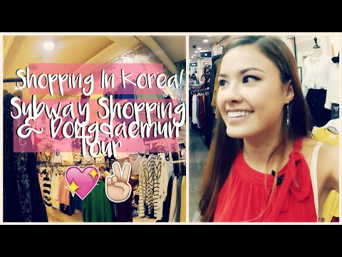 Shopping in Korean Subways & Dongdaemun Market Travel Vlog | The Travel Breakdown