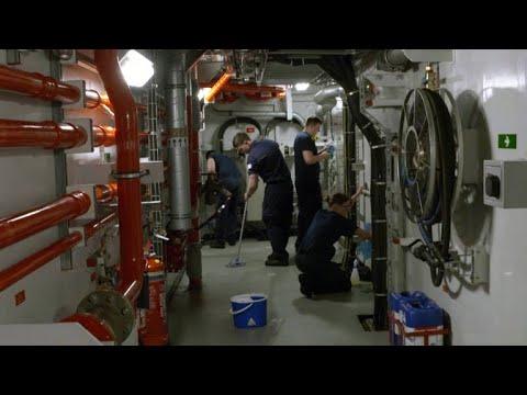 Aircraft Carrier Crew Face a Myriad of Risks Below Deck