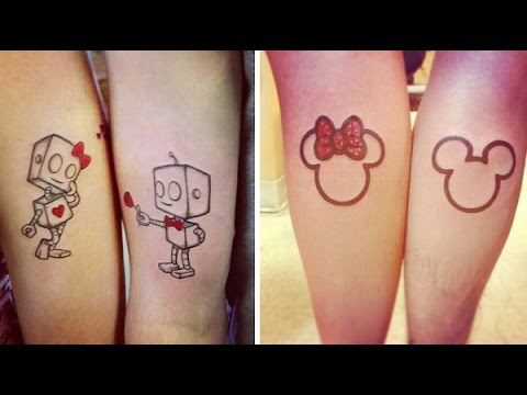 BEST AND CUTE COUPLE TATTOOS FOR LOVERS
