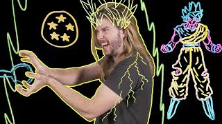 How To Go Super Saiyan with Science! | Because Science w/ Kyle Hill