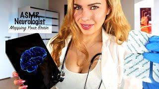 ASMR NEUROLOGICAL EXAM (Brain Mapping, Medical, Sleep Diagnosis)