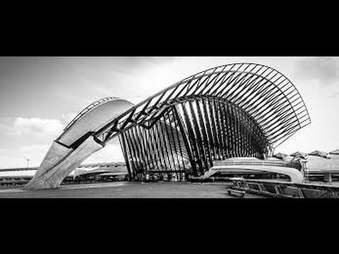 Calatrava - TGV-Bahnhof in Lyon-Satolas