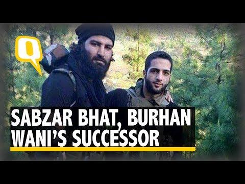 The Quint: Sabzar Bhat, Hizbul's Social Media Mastermind & Burhan's Successor