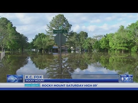 Flooding persists in Edgecombe County