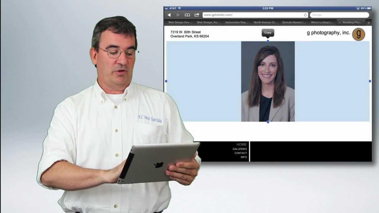 Web Design Kansas City Overland Park Kansas Training Content Above The Fold Youtube
