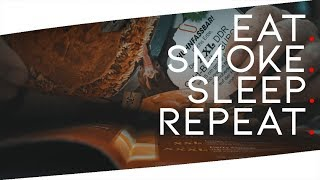 🌍 EAT - SMOKE - SLEEP - REPEAT | Sony a7sii - Vlog Deutsch