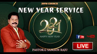 NEW YEAR SERVICE @JBPM / 1-1-2021