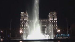 Семь красавиц 007. Музыкальный фонтан в Баку(Светодинамический музыкальный фонтан с огненым шоу на набережной Баку перед домом Правительства. часть..., 2009-10-13T16:42:35.000Z)