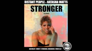 Distant People Feat Natasha Watts- Stronger (Alex Millet Disco Remix) Out Now