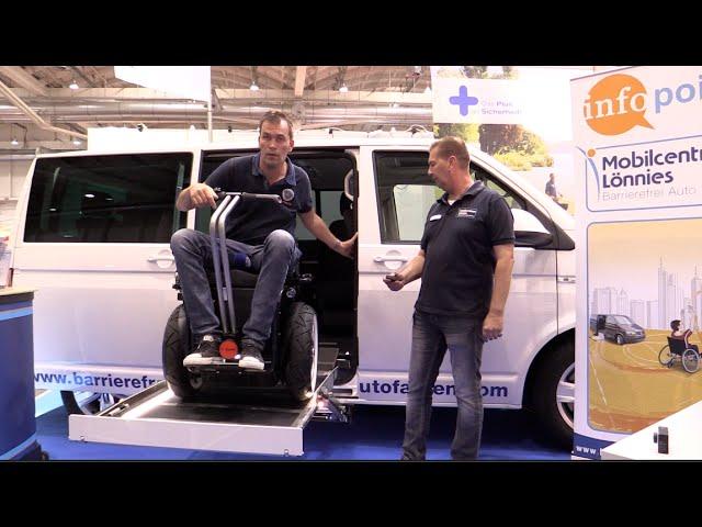 Neu Rollstuhl Kassettenlift Komfort LED Fahrzeugumbau