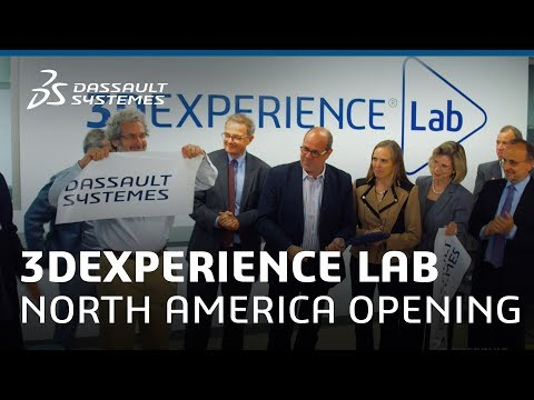 3DEXPERIENCE Lab North America Grand Opening - Dassault Systèmes