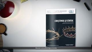 Revista Alfa Omega TV Magazin 9.6 -  Crestinul si statul (noi-dec 2019)