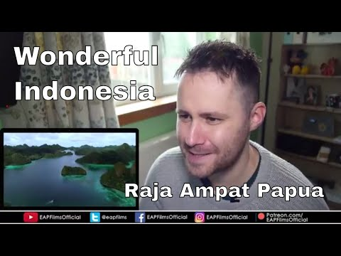 Wonderful Indonesia Raja Ampat Papua | REACTION