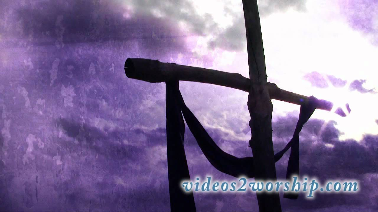 easter cross motion background hd youtube