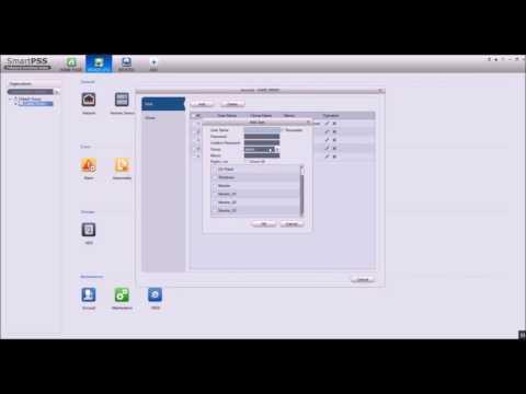 CAMX CCTV: Adding A User To Your DVR Using SmartPSS