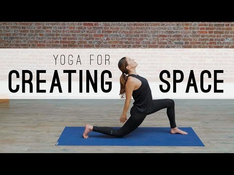 Yoga For Creating Space|Yoga With Adriene