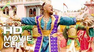 """Уилл Смит """"Джин"""" поёт Принц Али Сцена - АЛАДДИН (The Walt Disney, 2019) Фрагмент из Фильма"""