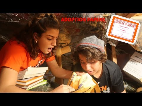 KENDRY FOUND HIS ADOPTION PAPERS IN THE ATTIC   PRANK  VLOGMAS DAY 19