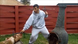C.U.M.A. SURVIVAL SCHOOL Tactical Tomahawks Part 2 with RMJ  Kestrel Jenny Wren Tomahawk