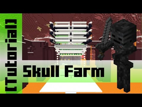 how to build a wither skeleton farm in minecraft