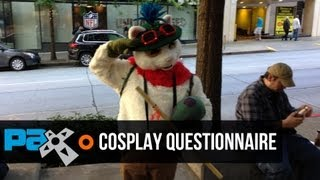 PAX 2013 cosplayer trivia - We quiz cosplayers on gaming knowledge