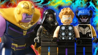 LEGO AVENGERS INFINITY WAR PART 10 - THOR V'S THANOS - MARVEL STOP MOTION