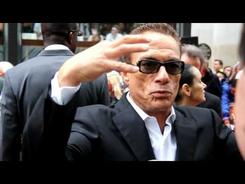 Jean Claude Van Damme Interview - The Expendables 2 UK Premiere