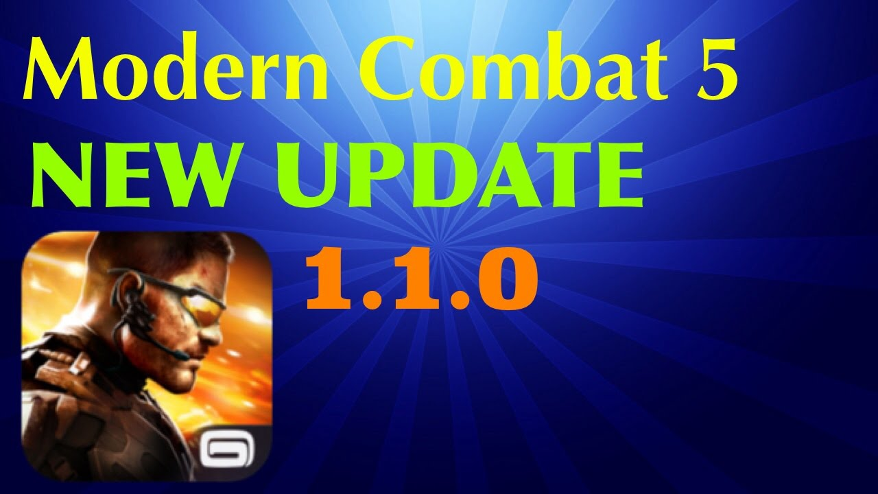 modern combat 5 new update