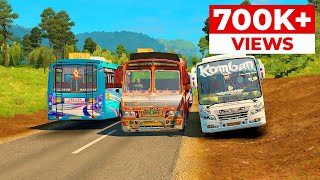 Komban Bus on Action | Smart Komban Bus Driver | Komban Bus Game