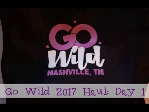 PGW GO Wild 2017: Day 1 Haul ft. 1407, Micheal