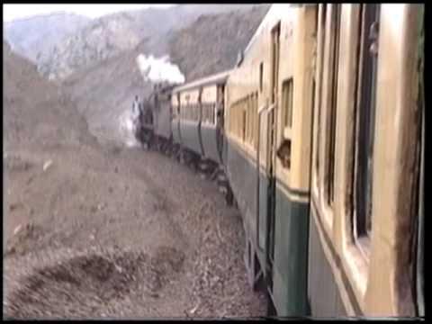 1. Part Steam Train to Afghan Border 1997