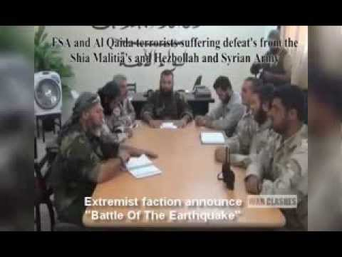 Warning (+18) Syria Crisis. Part 4/5 (FSA terrorists under fire, and their frailed attacks)