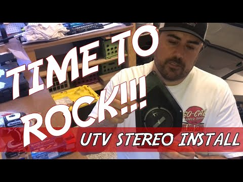 UTV Stereo on a Budget - Installing a Stereo in the Teryx