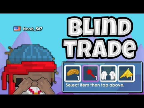 Growtopia | BLIND TRADE feat. Cherizer, Cyanide