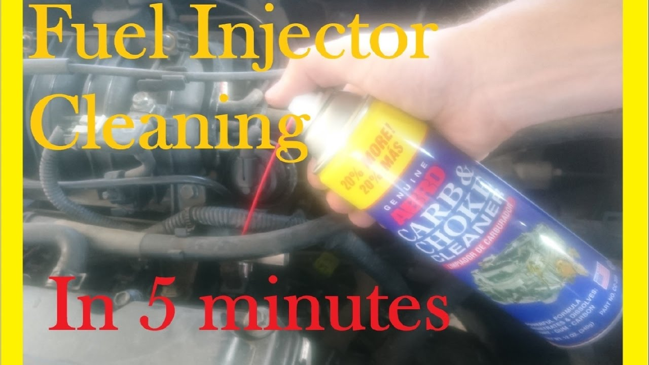 Fuel Injector cleaning in less than 5 minutes