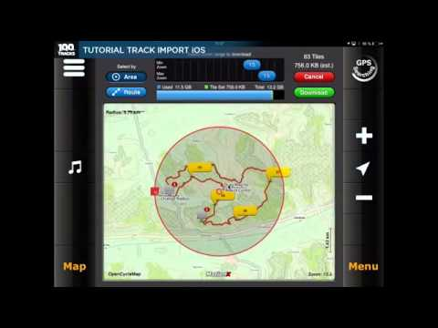 100tracks motionx tutorial youtube rh youtube com MotionX GPS App Review MotionX-GPS iPhone App