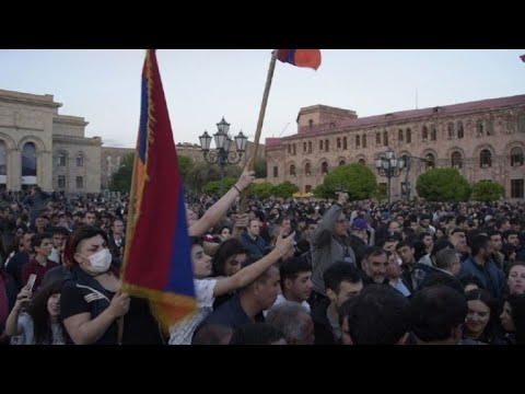 Tens of thousands rally in Armenia as ex-president elected PM