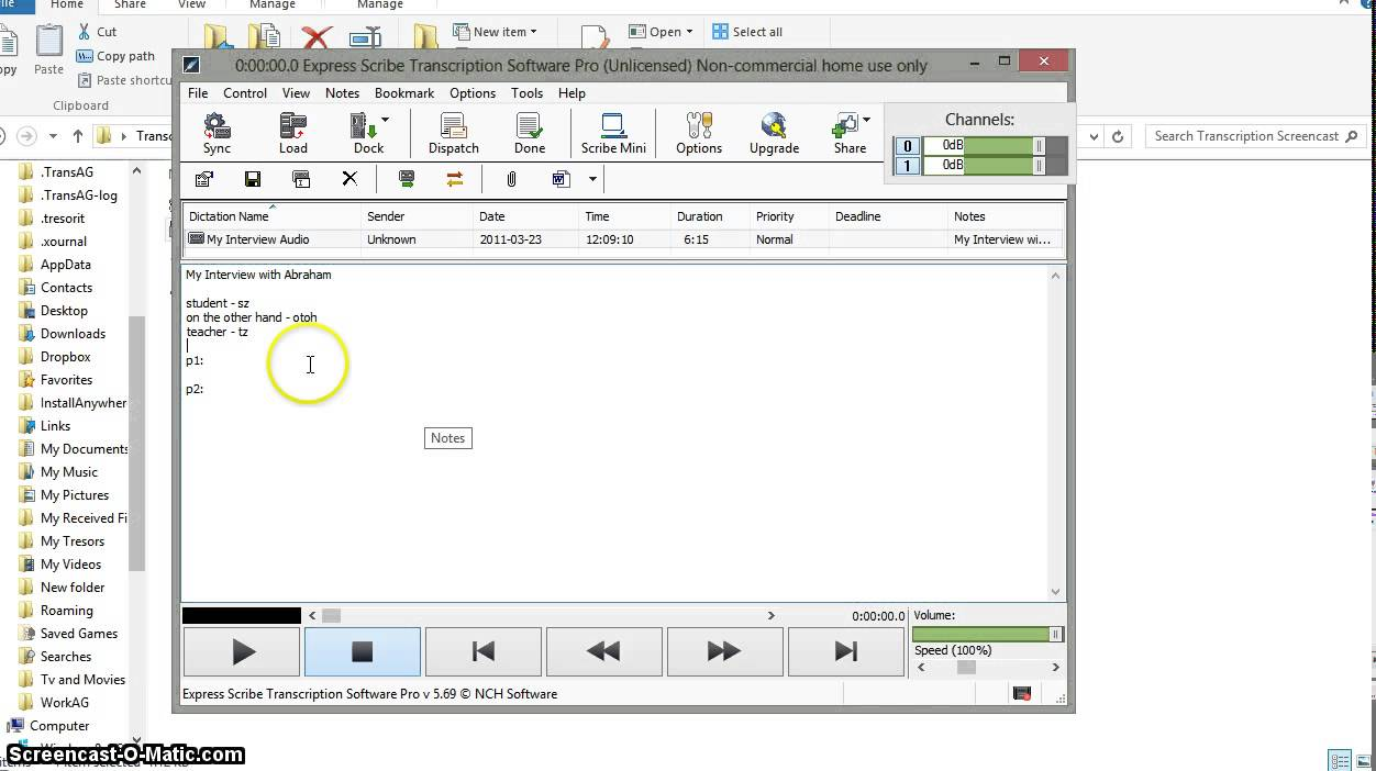 ExpressScribe Transcription - Guide and Speed Tips (for Windows and Mac)