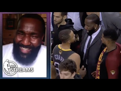 Kendrick Perkins explains beef with Steph Curry during the 2018 NBA Finals   Hoop Streams