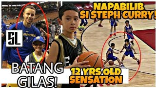 Batang GILAS PROSPECT napa-WOW si STEPH CURRY nagpa-PICTURE PA|IKUHA na ng PHILIPPINE PASSPORT yan!