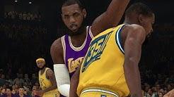 NBA 2K19 Los Angeles Lakers vs Golden State Warriors | NBA 2K19 Gameplay CPU vs CPU