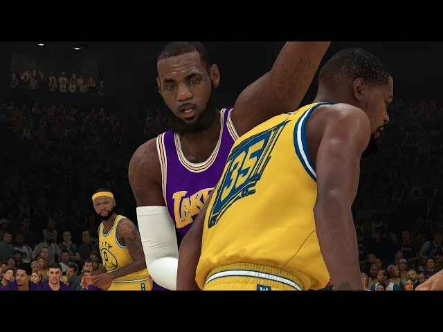 aea63ad8ac2d NBA 2K19 Los Angeles Lakers vs Golden State Warriors