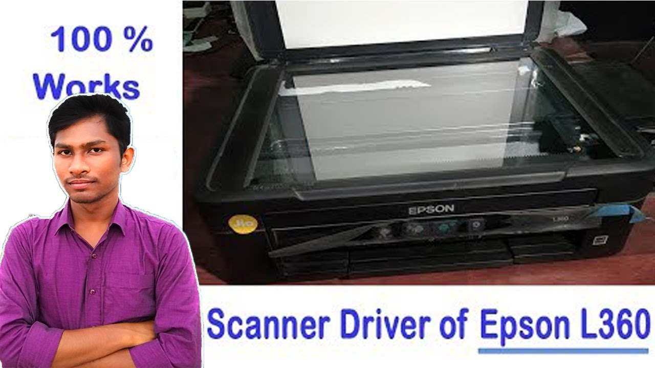 Epson L360 scanner driver download and Install step by ...