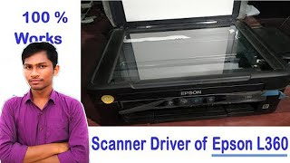 Gambar cover Epson L360 scanner driver download and Install step by step in Hindi | Install Epson L360 scanner