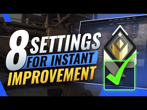 INSTANTLY Increase Your Winrate With These 8 Settings Valorant