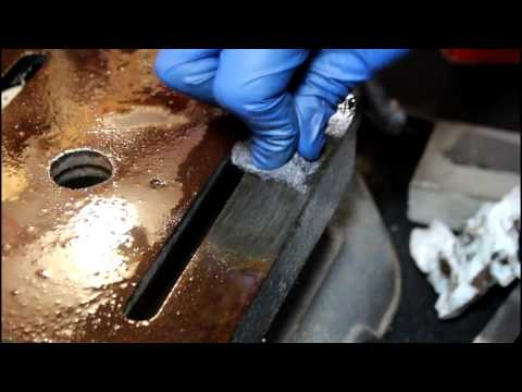 Rust Removal By Hand Without Harsh Chemicals