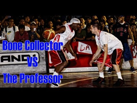 Streetball Battle Mixtape 1  The Professor Vs The Bone Collector