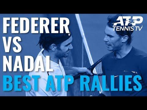 Roger Federer vs Rafael Nadal: Best Ever ATP Shots & Rallies