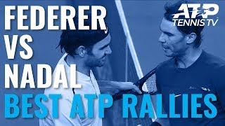 Roger Federer vs Rafael Nadal: Best Ever ATP Shots & Rallies