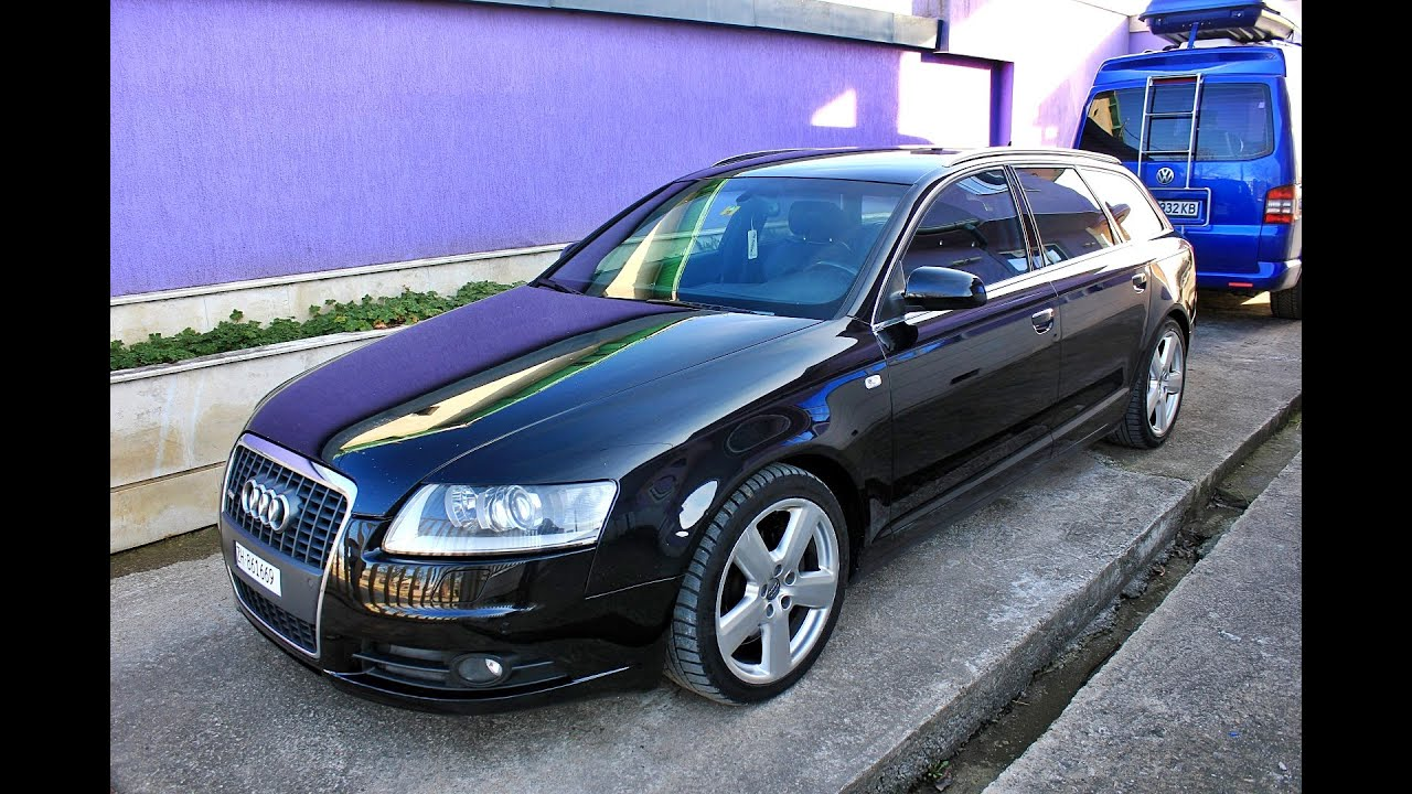 audi a6 3 0tdi s line avant 2006 224hp quattro 4f youtube. Black Bedroom Furniture Sets. Home Design Ideas